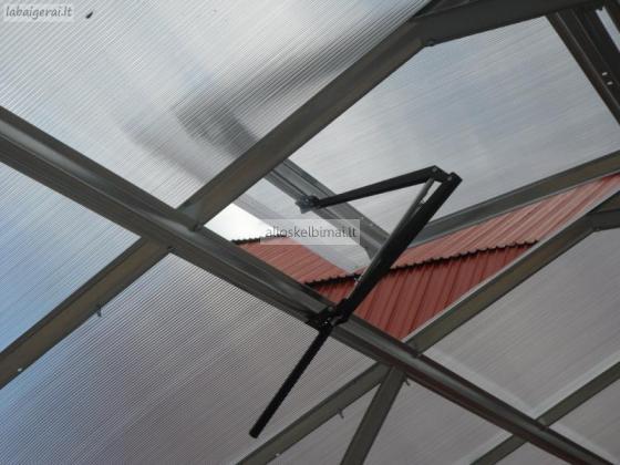 Automatinis šiltnamio stoglangio atidarytuvas-alioskelbimai