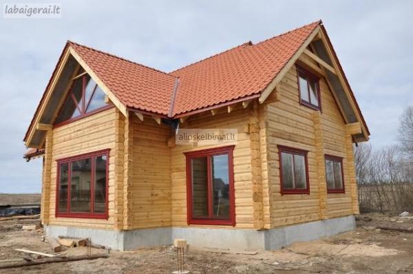 Rąstiniai namai,rastinių namų statyba-alioskelbimai