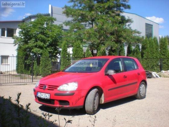 VW Golf V nuoma-alioskelbimai