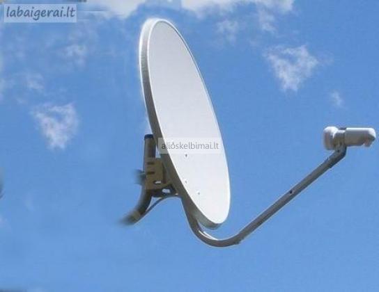 Palydovinė televizija-montavimas,derinimas,remontas Nemokamai Rusų  TV-alioskelbimai