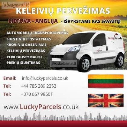 Lietuva-Anglija siuntos kroviniai keleiviai kiekviena savaite,.-alioskelbimai