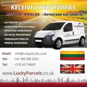 Lietuva-Anglija siuntos kroviniai keleiviai kiekviena savaite,.