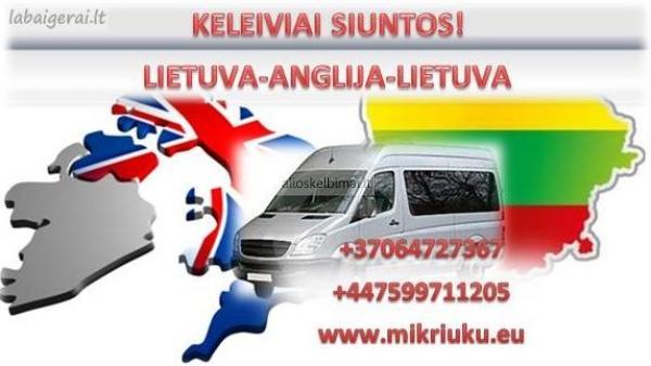 Į ANGLIJĄ  www.mikriuku.eu-alioskelbimai