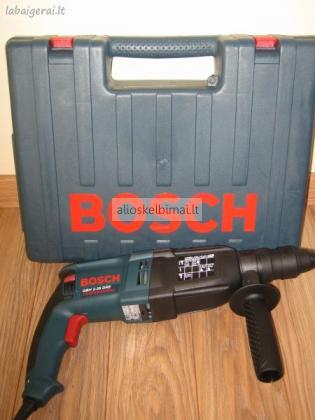 Parduodamas naujas perforatorius Bosch GBH2-26 DRE