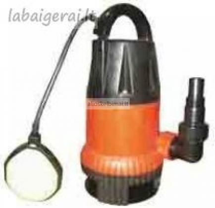 Panardinamas siurblys užterštam vandeniui TP 400-alioskelbimai