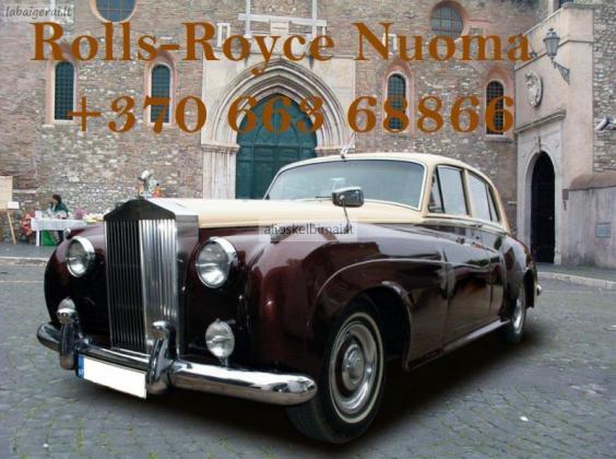 Rolls Royce ir Cadillac Eldorado mašinų nuoma-alioskelbimai