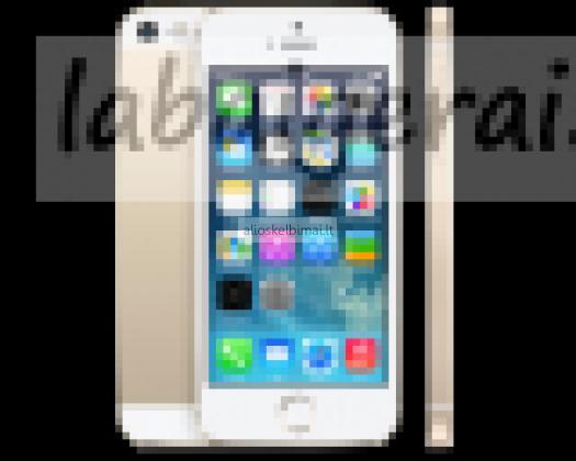 ULTRA PIGIAI IPHONE 5 S 16 GB -300  eu-alioskelbimai