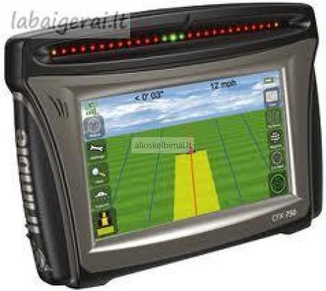 Trimbe CFX-750 lygiagretaus vairavimo navigatorius-alioskelbimai