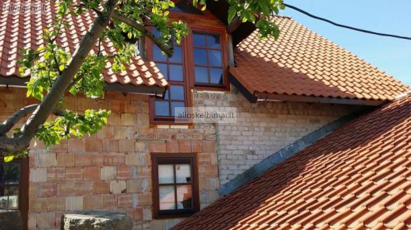 1,5 aukšto nebaigtos statybo namas Palangoje-alioskelbimai