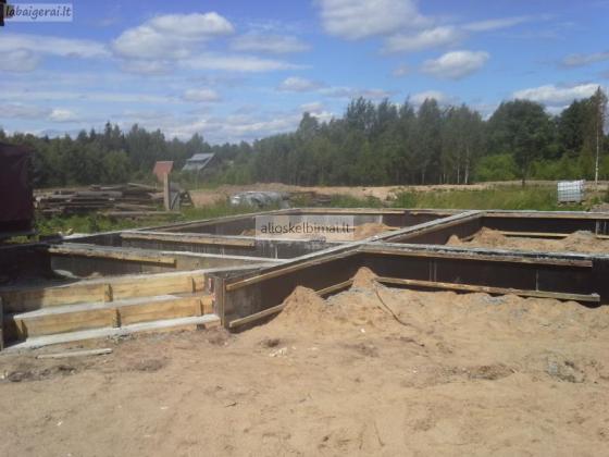 Pamatu liejimas, betonavimas ir kiti darbai-alioskelbimai