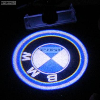 BMW Led numerio apšvietimas, Led Logotipai