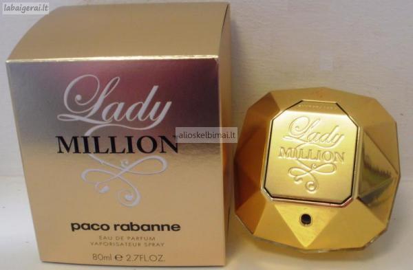 Paco Rabanne Lady Million EDP 80ml-alioskelbimai