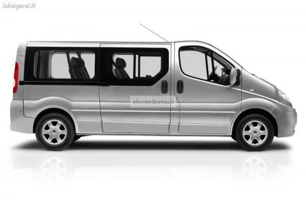 Mikroautobusai nuomai nuo 140LTL-alioskelbimai
