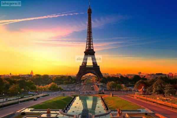 Kelionė į Paryžių ir Disneilendą – 474 Lt! Dviejų savaičių kelionė į Tailandą – 2899 Lt!