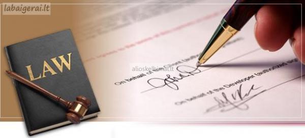 Sutarčių rengimas įmonėms ir fiziniams asmenims-alioskelbimai