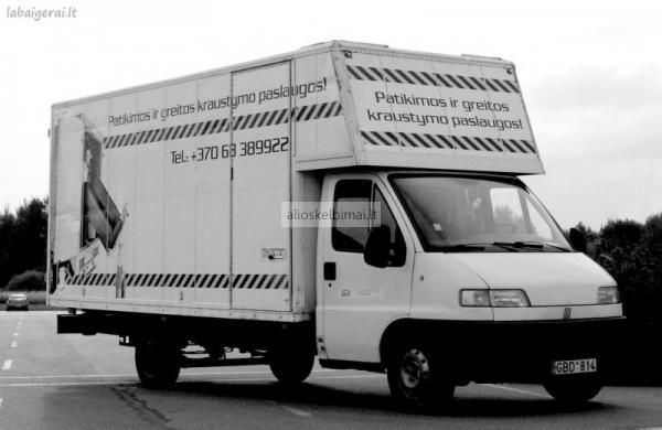 Kraustymas - Pervežimas-alioskelbimai