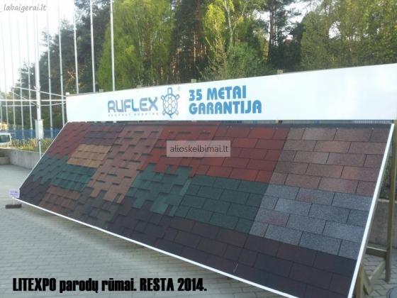 Bituminės čerpės RUFLEX. (35m. garantija!)-alioskelbimai