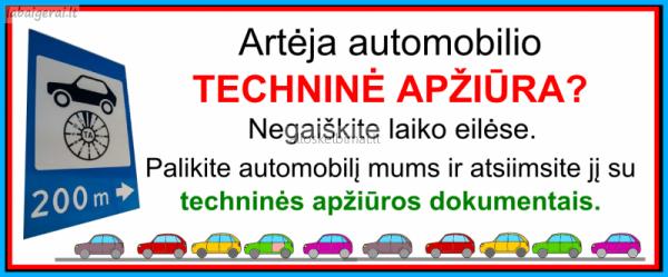 Automobilio techninė apžiūra-alioskelbimai