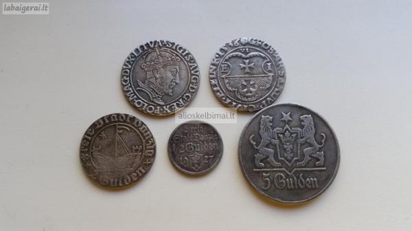 Kelios monetos-alioskelbimai