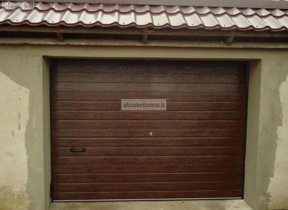 Pigūs pakeliami garažo vartai su automatika-alioskelbimai