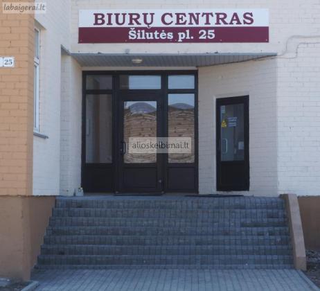 Biuro patalpų nuoma Klaipėdoje,  Šilutės pl.25-alioskelbimai