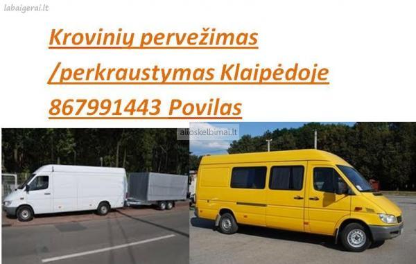 Kroviniu pervezimas Klaipedoje 867991443-alioskelbimai