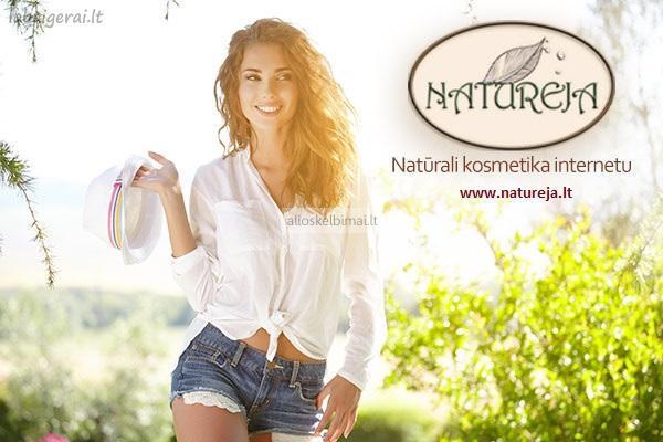 Natūrali gydomoji kosmetika-alioskelbimai