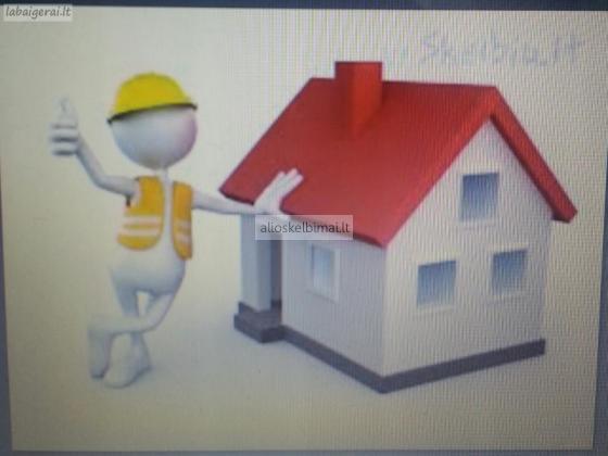 Remonto ir statybos darbai iki - 30 proc.-alioskelbimai