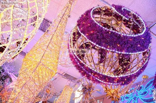 Kalėdinis dekoratyvinis apšvietimas