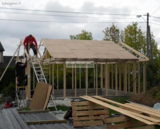 Medinės Statybos Meistrai-alioskelbimai