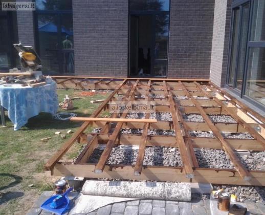Medinės Statybos Meistrai