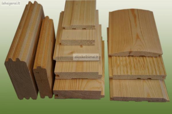 Dailylentė, pakalimų, grindų lentos, obliuota mediena-alioskelbimai