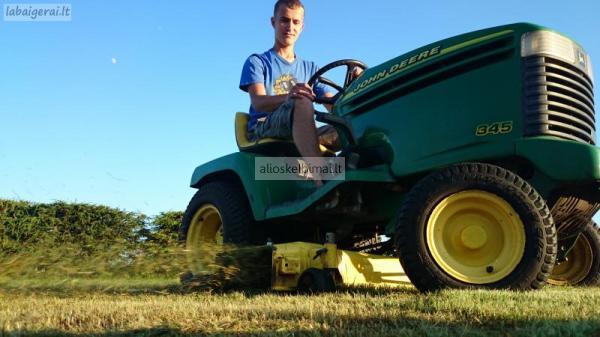 Žoles, vejos pjovimas UTENOJE. gerbuvio darbai-alioskelbimai