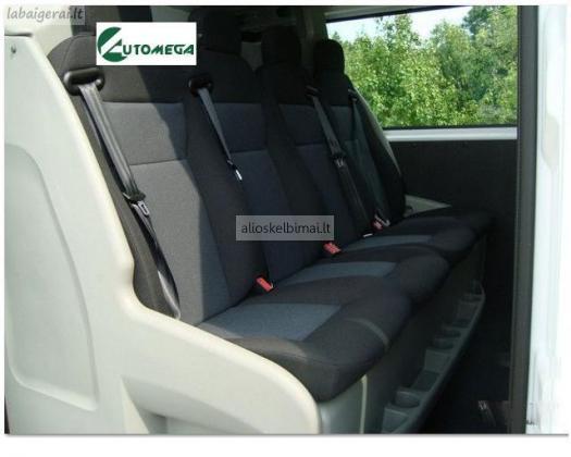 Keleivinio- krovininio mikroautobuso nuoma