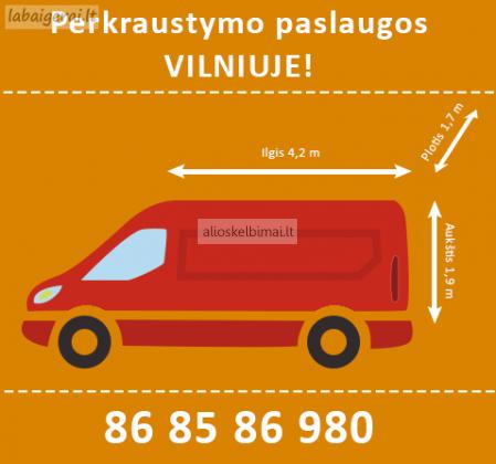 Perkraustymo paslaugos Vilniuje - 868586980-alioskelbimai