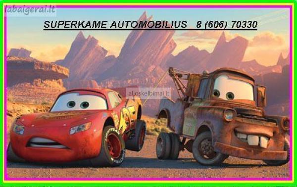 Superkame automobilius  8 (606) 70330 www.automila.lt-alioskelbimai