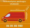 Perkraustymo paslaugos Vilniuje - 868586980
