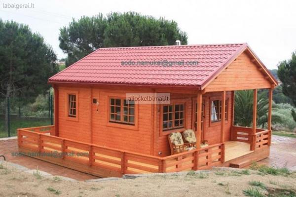 Projektuojame ir gaminame vasarnamius sodo namukus pavėsines garažus-alioskelbimai