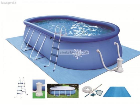 Pripučiami baseinai nuo 9 Eur..