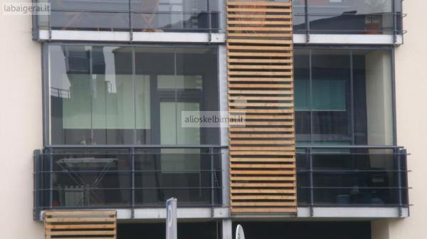 Terasų ir balkonų stiklinimas, aliuminio profilio gaminiai-alioskelbimai
