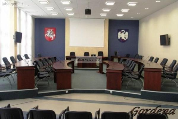 Konferencijų salių baldų projektavimas ir gamyba-alioskelbimai