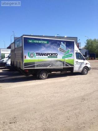 Krovinių pervežimo darbai 864757542-alioskelbimai