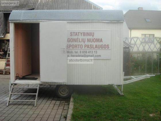 Statybinių vagonėlių nuoma-alioskelbimai