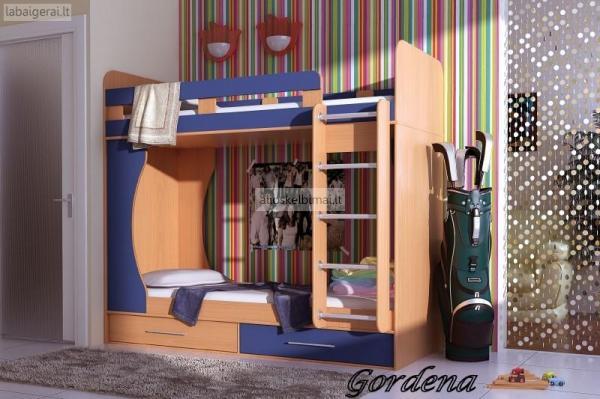 Vaikų kambario baldai.Baldų dizainas,projektavimas ir gamyba-alioskelbimai