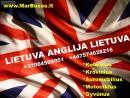 Kiekviena savaite vykstame marsrutu Lietuva-Anglija-Lietuva.