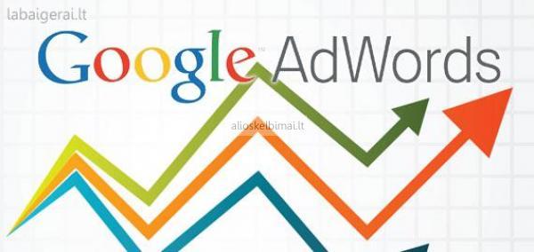 Efektyvi google adwords reklama jūsų verslui-alioskelbimai