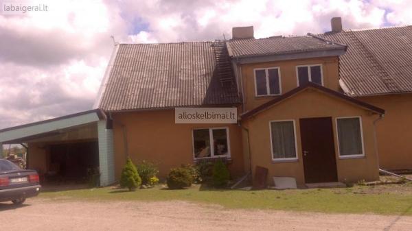 Parduodu gyvenama nama - vokiska sodyba-alioskelbimai