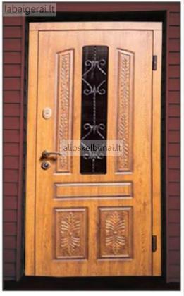 Plieninės lauko ir vidaus durys-alioskelbimai
