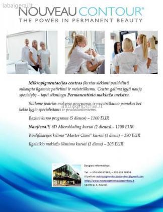 UAB Mikropigmentacijos centras kviečia-alioskelbimai