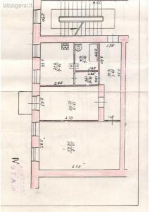 Gedimino pr., 2 kambarių butas